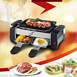 Electric Barbecue Grill And Tandoor - Now With Frying And Roasting Function