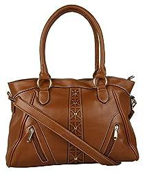 Satchel Women's Handbag (Brown,Sathb671)