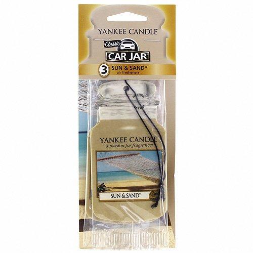 yankee-candle-classic-car-jar-profumatore-per-auto-sun-and-sand-sole-e-sabbia-3-pezzi-cartone-giallo
