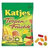 Katjesカッチェス トロピカルフルーツ 200g×4袋セット グミキャンディー ゆうパケット