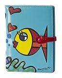 Romero Britto Small Wallet - Fish