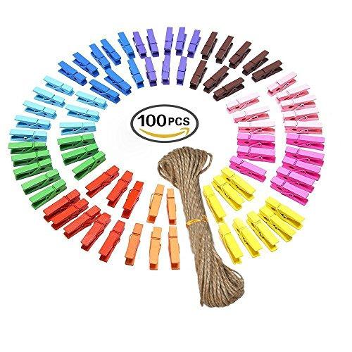 g2plus-100-clip-portafoto-in-legno-mollette-colorate-clothe-photo-paper-craft-fai-da-te-clip-con-20-