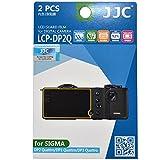 JJC LCP-DP2Q LCD Screen Protector Film for Sigma DP1/DP2/DP3 Quattro