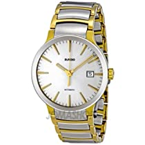Rado Centrix Silver Dial Stainless Steel Automatic Mens Watch R30529103