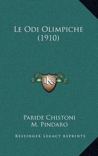 Le Odi Olimpiche (1910)