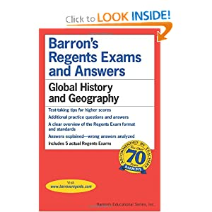 Global History and Geography (Barron's Regents Exams and Answers Books) by Romano