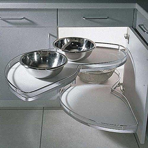 Küchen Eckschrank Schwenkauszug ~ LeMans EckschrankSchwenkauszug für 45cm Türbreite, links