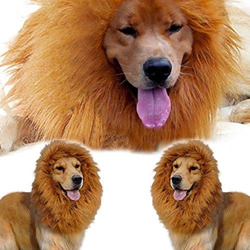 Bild von: Natural Home Hundekostüm Löwenmähne für Hunde (XL)