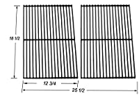 Bar.b.q.s 54712 Porcelain Coated Steel Wire Cooking Grid replacement for Charbroil, DCS, Kenmore Sears and other Grills, Set of 2 from Bar.b.q.s
