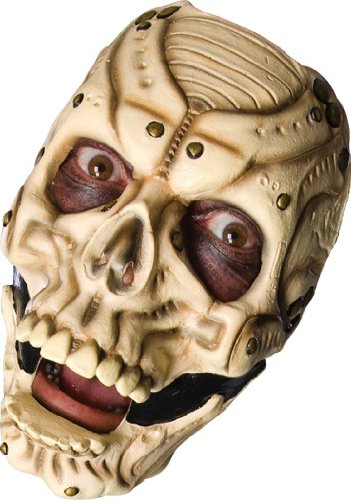 Slipknot Latex Full-Face Mask, Sid, Brown, One Size