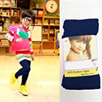 Navy Girls Kids Footed Tights Dance Stockings Leggings Ballet Colors Small 1-3
