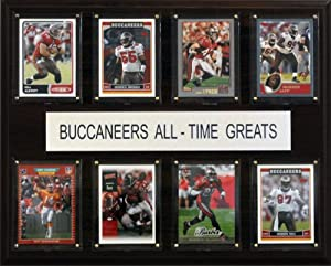 NFL Tampa Bay Buccaneers All-Time Greats Plaque by C&I Collectables