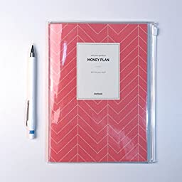 Money Plan Note with Pencil, Account Book, 8.3\