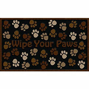 2 X Apache Mills 60-925-0894 Wipe Your Paws Doormat, Brown, 18-Inch by 30-Inch by Apache Mills