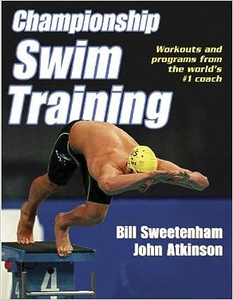 Championship Swim Training written by Bill Sweetenham
