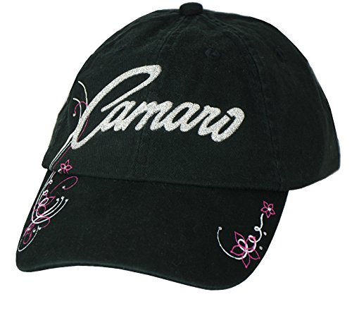 Womens Chevy Camaro Hat - Black (Chevy Camaro Womens Apparel compare prices)