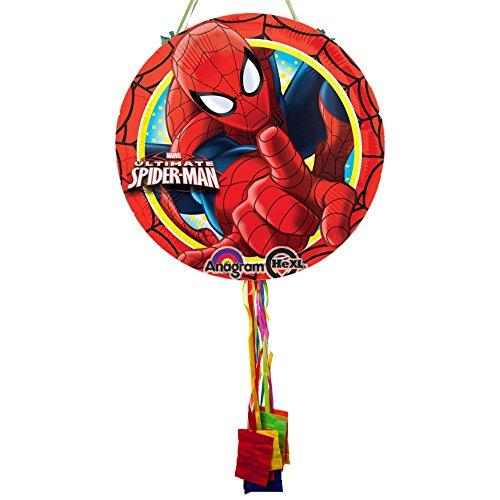 Costume Supercenter BBKIT1109BG Ultimate Spiderman Pull String Pinata