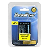 Maximalpower FUJI NP-120 2000mah Battery for Fuji NP120 Pentax DL17 and the Kyocera-Contax BP1500 Fully Decoded w. 3 yr warranty