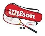Wilson Squash Starter Kit Racquet - Multicoloured, 27 Inch