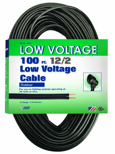 Low Voltage Wire Sizing : Coleman cable low voltage lighting
