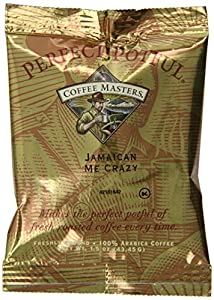 Coffee Masters Perfect Potful Jamaican Me Crazy Ground Coffee, 1.5-Ounce Packets (Pack of 12)