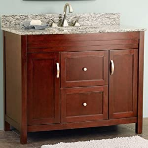 Bathroom Vanity on Melyssa 42 88  Bathroom Vanity Set   Amazon Com