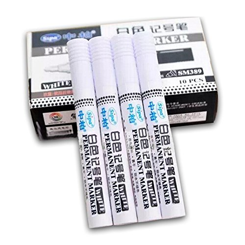 5-pcs-set-permanent-white-type-paint-touch-up-pen-waterproof-marker-cj469