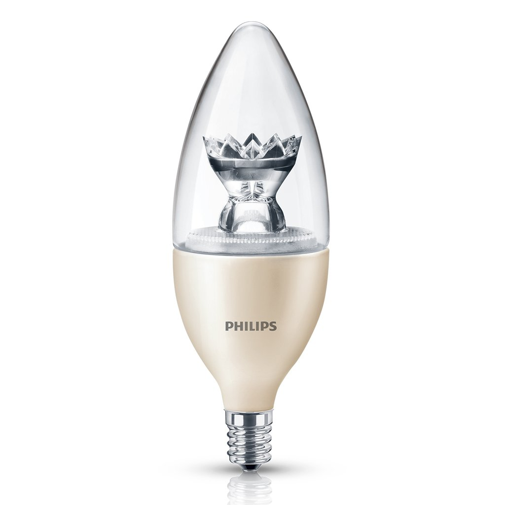 philips 435057 40 watt equivalent dimmable led b13 candelabra base decorative ca ebay. Black Bedroom Furniture Sets. Home Design Ideas