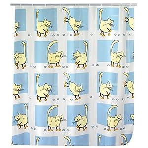 Wenko 19127100 tenda per doccia gatti - Pellicola per doccia ...
