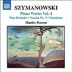 シマノフスキ: ピアノ曲集 - 第4集