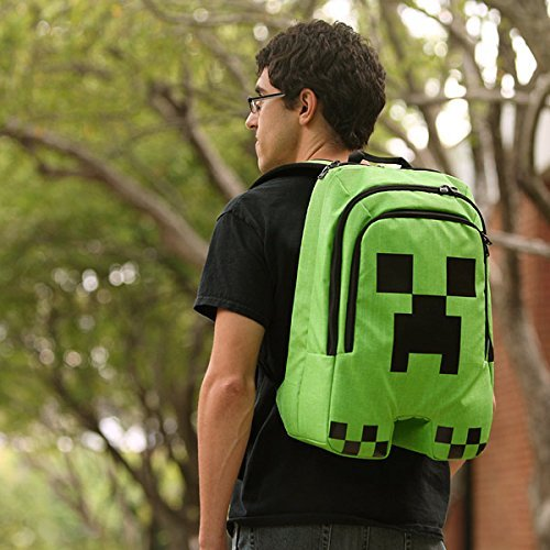 2015 New Arrival Minecraft Creeper Mochila