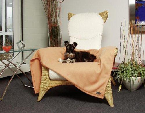 Artikelbild: KARLIE Liegedecke COSY Wendedecke für Hunde ORANGE