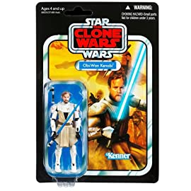 Obi-Wan Kenobi Clone Wars VC103 Star Wars Vintage Collection Action Figure