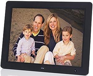 """DigitalMate DM1500 15"""" Hi-Resolution Digital Picture Frame with Motion Sensor (Black) from Royal Group International"""