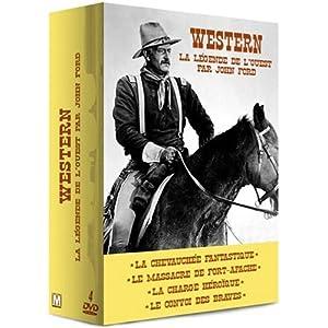 Coffret Western : La légende de l'Ouest par John Ford - 4 DVD : La Chevauchée fantastique / Le Mas