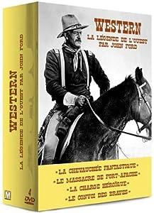 Coffret Western : La légende de l'Ouest par John Ford - 4 DVD : La Chevauchée fantastique / Le Massacre de Fort Apache / La Charge héroïque / Le Convoi des braves