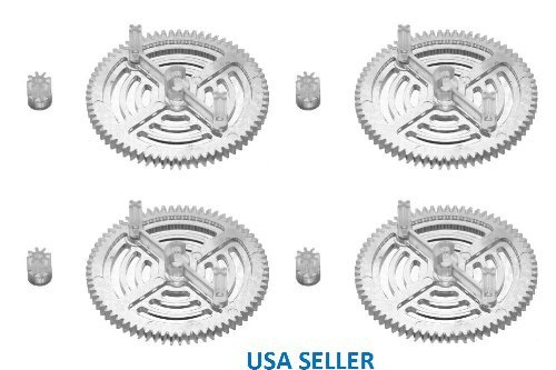 UltraFlight Clear High Performance Gears for the Parrot AR Drone 2.0 (Limited Quantities!!!)