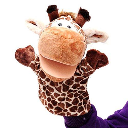 Sharondar Simpatico peluche dito animale bambola burattino corpo pieno giocattoli del burattino di mano 9