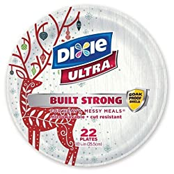 Dixie® Ultra Holiday Disposable Paper Plates - 10 - 22ct