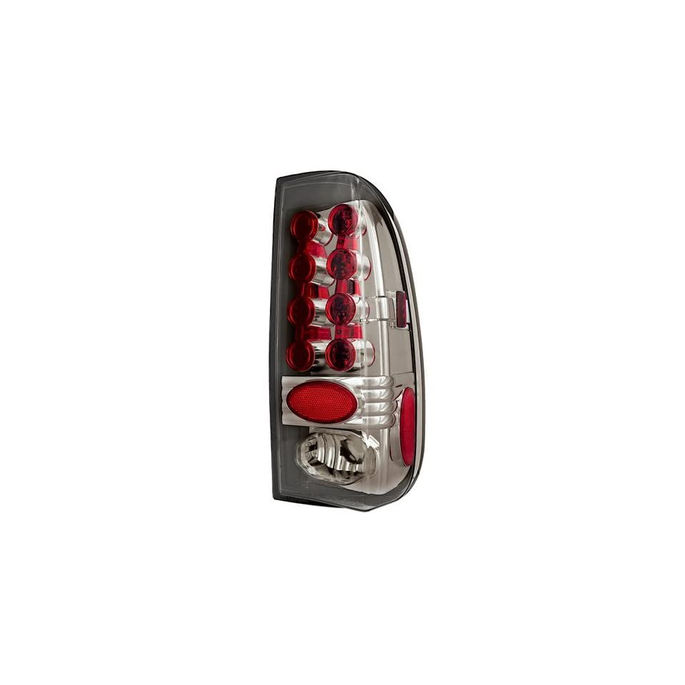 Ford Super Duty 2008 2009 Tail Lamps, LED Platinum Smoke 1 pair