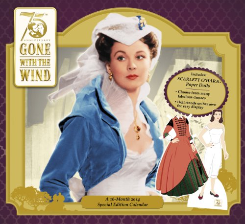 2014 Gone With The Wind Special Edition Wall Calendar