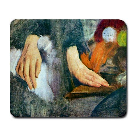 Hand Study By Edgar Degas Mouse Pad