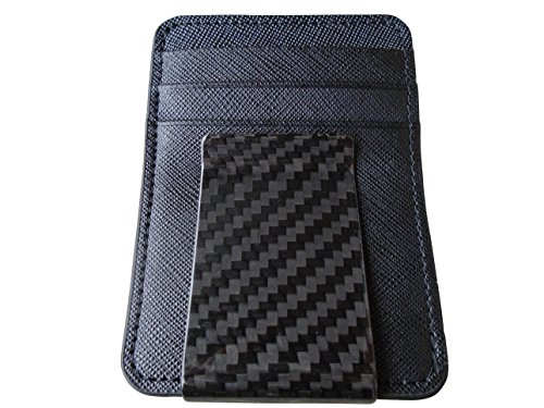 1 X Carbon Fiber Men's Money Clip Wallet (Black) (Z Clip Le Mans compare prices)