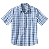 Jack Wolfskin Men's Hot Chili Shirt - Night Blue Light Checks, Medium