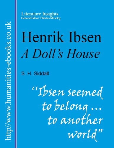 a literary analysis of nora Nora helmer of ibsen's a doll's house is one of the most complex characters of 19th-century drama: childlike, clever, desperate and transformed.