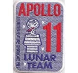 Apollo 11 Lunar NASA Snoopy Syndicate Spacestation Uniform Iron on Patch Badge Insignia