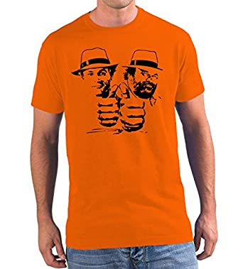 Bud Spencer & Terence Hill 4 Fäuste gegen Rio Premium T-Shirt #7 - Orange M