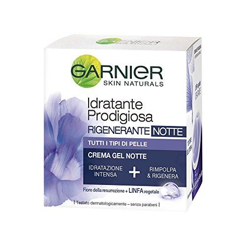 Garnier Idratante Prodigiosa Crema Gel Rigenerante Notte, 50 ml