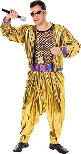Mens Fancy Dress Party Accessory Mc Hammer Style 80's Video Super Star Costume