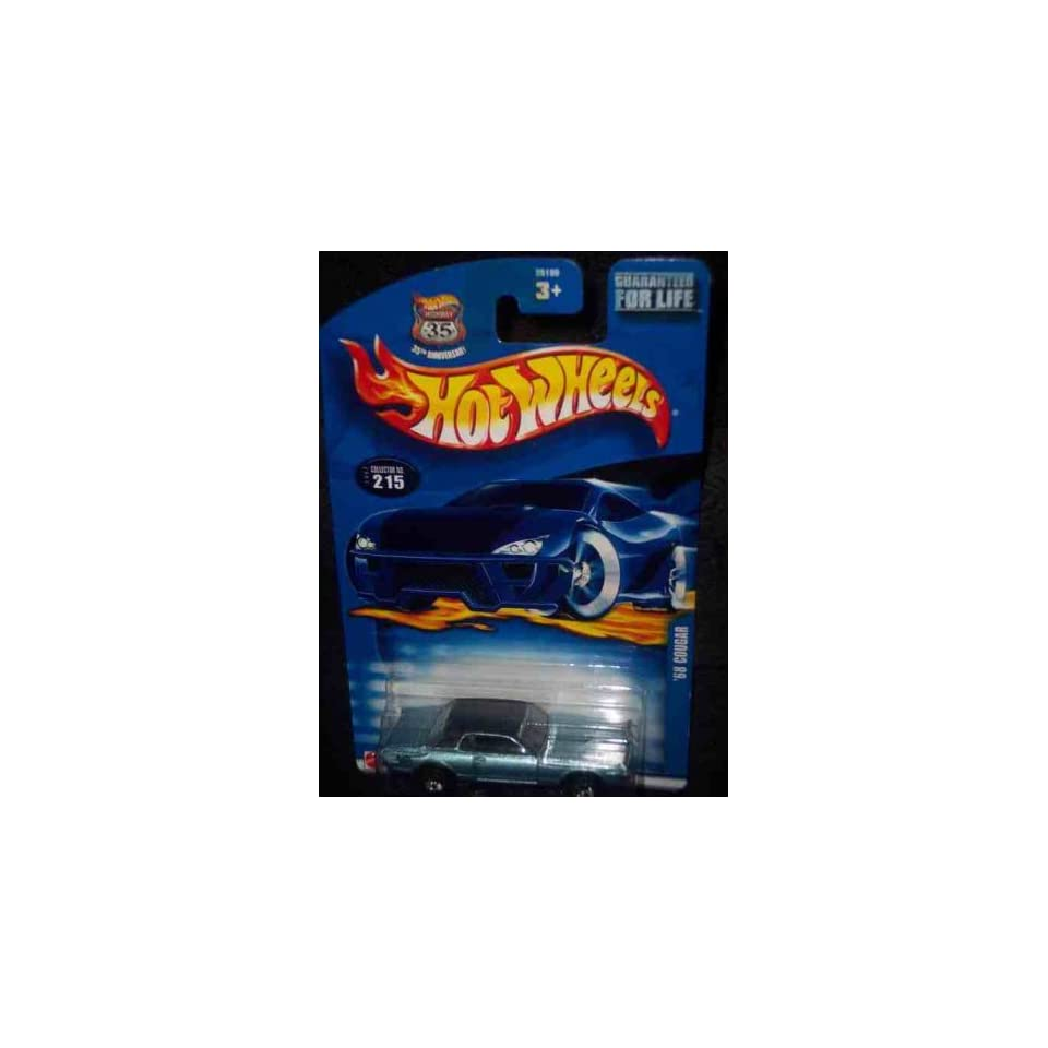 #2002 215 1968 Cougar 2002 card China Collectible Collector Car Mattel Hot Wheels
